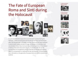 The Fate of European Roma and Sinti during the Holocaust