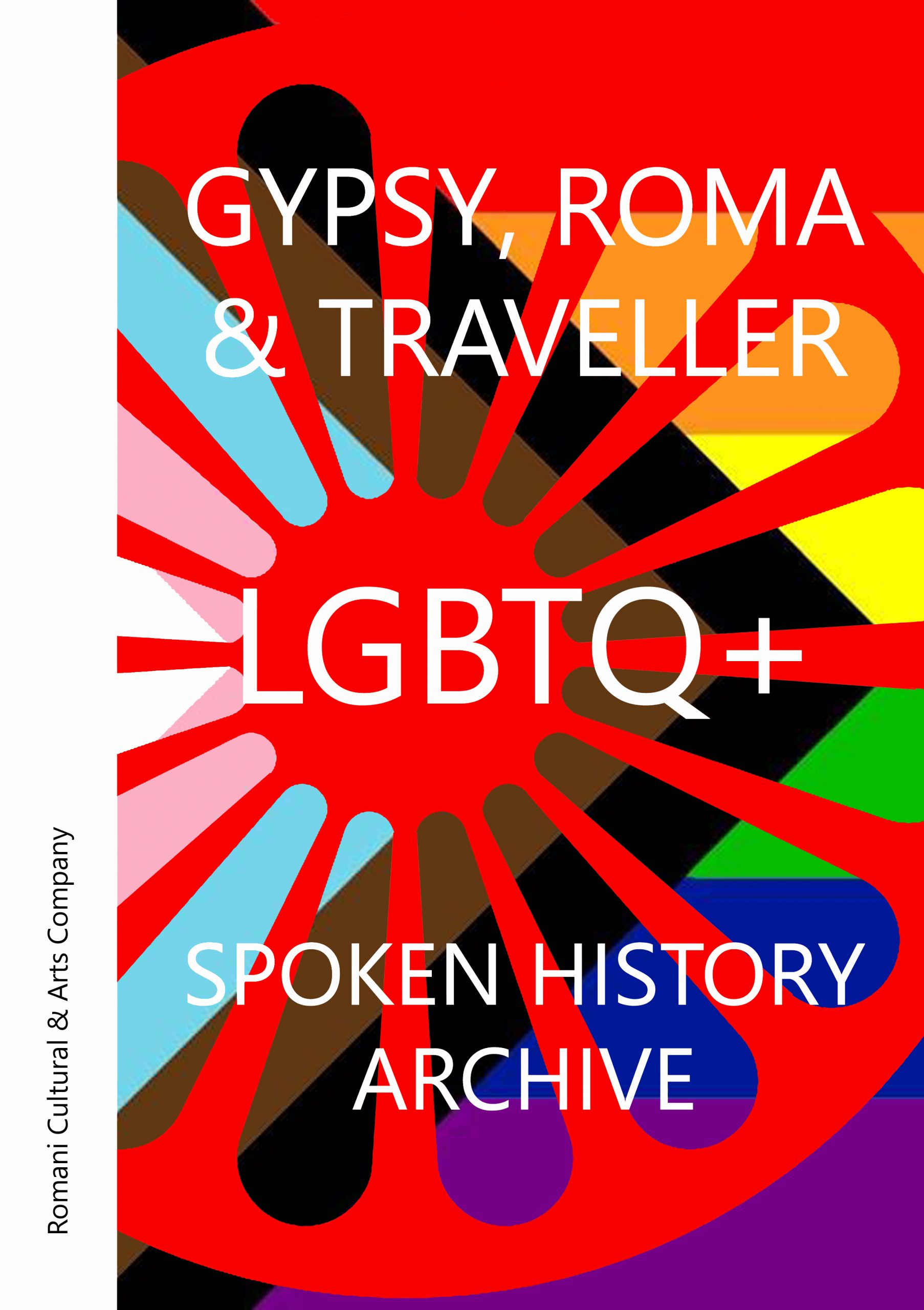 "Featured image for ""Gypsy, Roma & Traveller LGBTQ+ Spoken History Archive Book"""